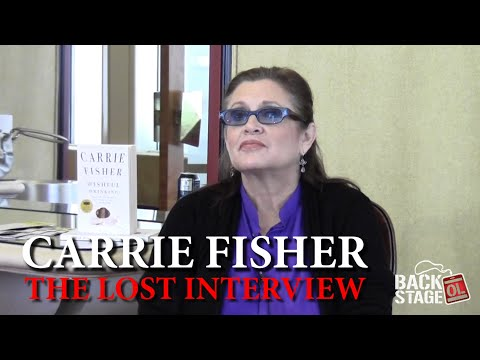 Carrie Fisher: The Lost Interview With Princess Leia