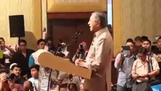 Police stop Dr M from speaking at 'Nothing to Hide' dialogue