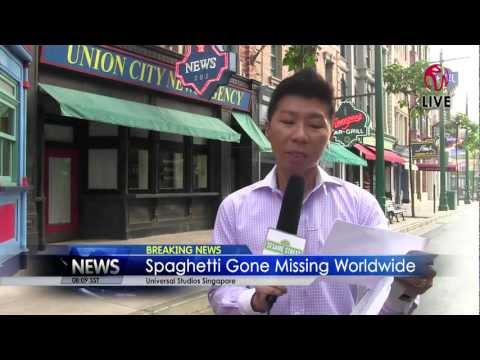 Sesame Street at Universal Studios Singapore - Breaking News 06.10.2012
