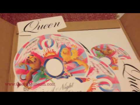 Queen A Night At The Opera Promotional Press Kit From USA and promo store kit
