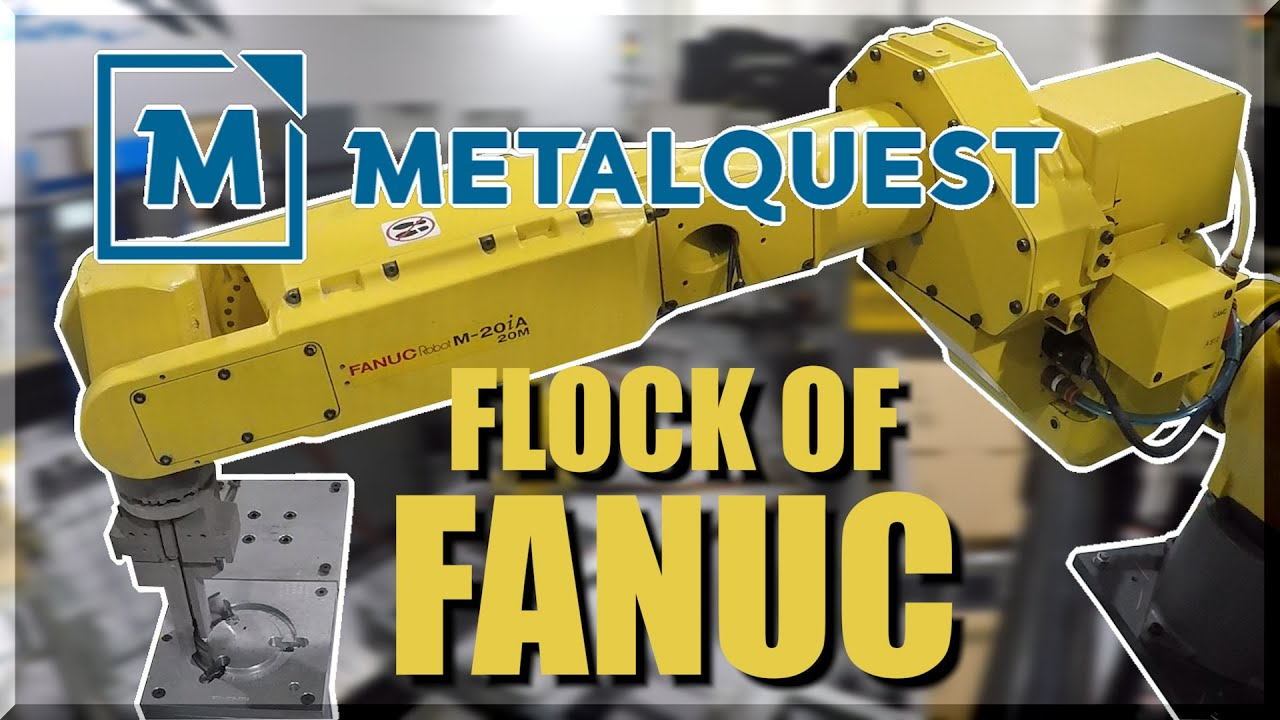 MetalQuest Shop Tour | A Flock of Robots & CNC Machines!