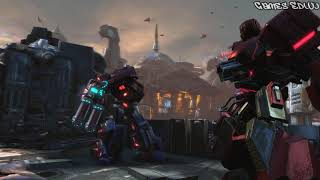 Transformers Fall of Cybertron PC Gameplay - Optimus Prime e Robô Gigante