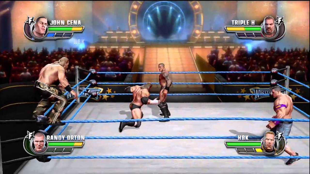how to play wwe all stars