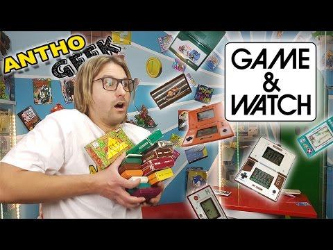 LES GAME & WATCH : L'ÉTONNANTE INVENTION  ! (Anthogeek)