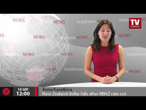 New Zealand dollar falls after RBNZ rate cut