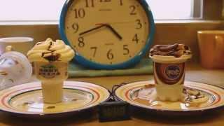 20130628 冰淇淋 六小時 不溶化實驗 我的天啊 縮時快轉5000 速度 上字幕音樂版