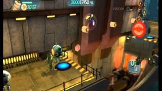 Monsters vs. Aliens Movie Game Walkthrough Part 5 (Wii)