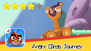 Angry Birds Journey 30-31 Walkthrough Fling Birds Solve Puzzles Recommend index four stars