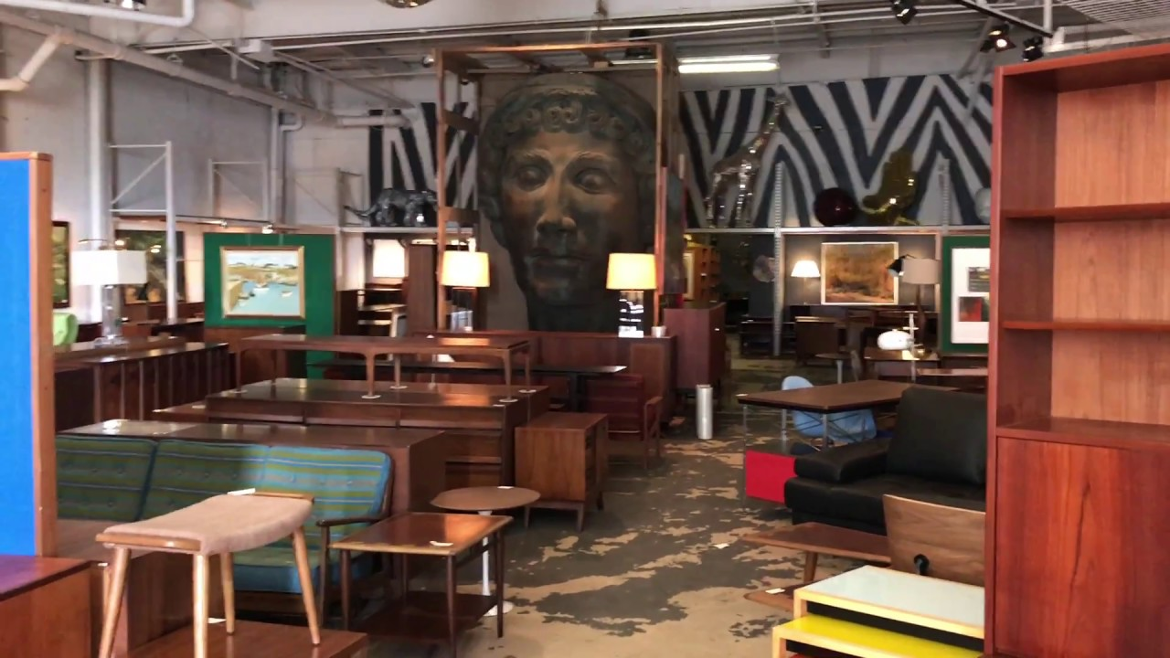 Mid-Century Furniture Warehouse Sale Preview - YouTube