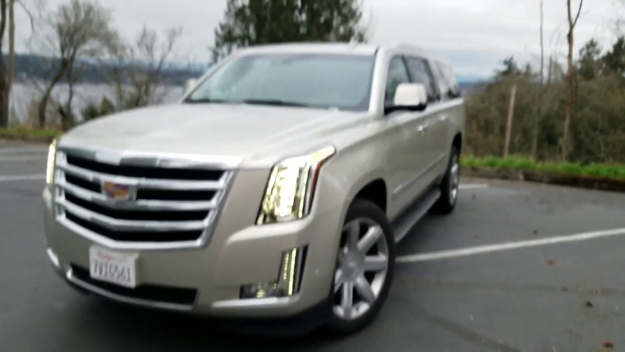 2017 Cadillac Escalade Esv Review