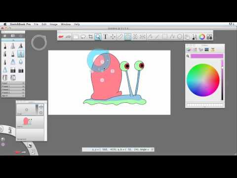 Sketchbook Pro - How To Draw Gary