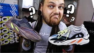 Yeezy 700 mauve differences OG Wave Runner???