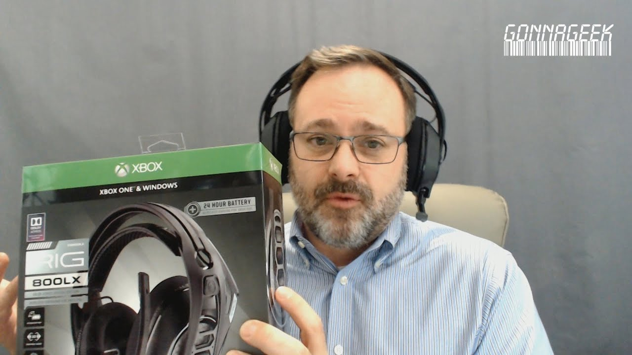 Plantronics Rig 800LX Gaming Chat Headset Quick Review - NOT FOR PODCASTING  (But still useful)