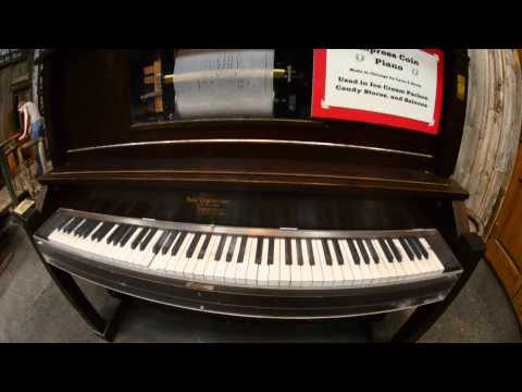 Empress Coin Piano Plays Cruising Down the River 1900s