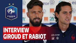 Interview Olivier Giroud & Adrien Rabiot I FFF 2020