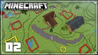 Planning my New Village! | Minecraft 1.16 Survival Lets Play | Episode 2