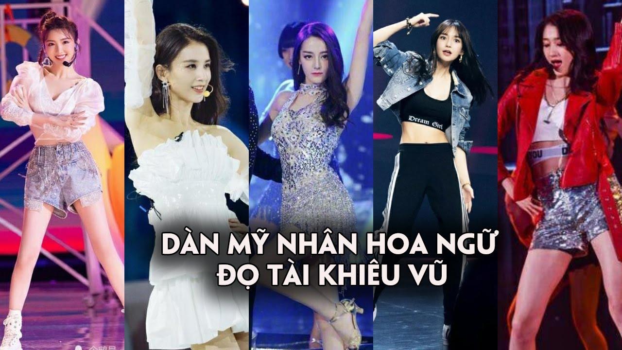 Địch Lệ Nhiệt Ba và dàn mỹ nhân Hoa ngữ đọ tài khiêu vũ