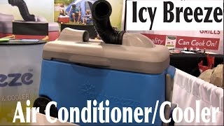 #geticybreeze Icy Breeze Portable Air Conditioner Cooler System: By The Weekend Handyman