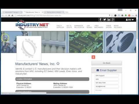 IndustryNet - Uploading Your Logo