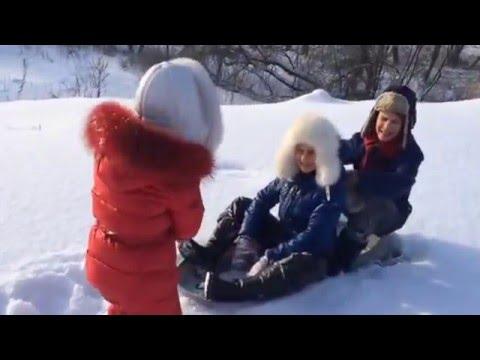 """А.С. Пушкин """"Зимнее утро"""". Читает Иван Чумаченко"""