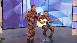 Kamar Hati (First Version) - Syafiq Farhain & Pudin Live at TV3 (MHI)