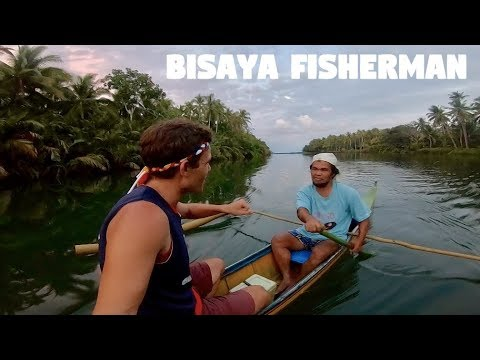 CANADIAN SPEAKING BISAYA WITH A LOCAL FISHERMAN IN THE PHILIPPINES (Tatay and Giant Shrimps)