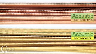 Cleartone Strings :: Phosphor-Bronze vs. 80/20 Bronze with Yarone Levy