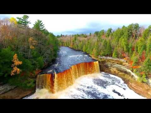 Tahquamenon Falls Teaser   Drone View