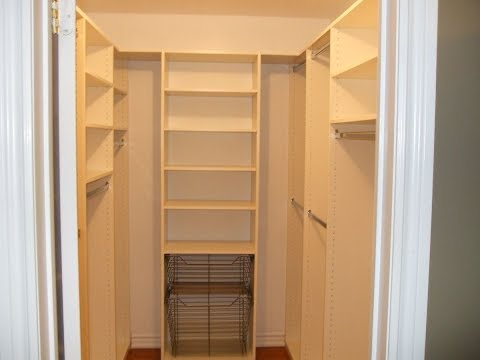 Small Walk In Closets Designs Youtube