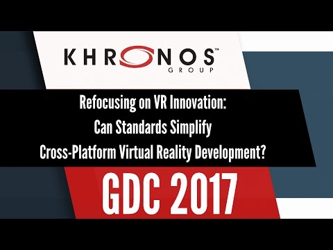 Refocusing on VR Innovation: Can Standards Simplify Cross-Platform Virtual Reality Development?