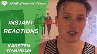 Instant Reactions Oslo 2017: Karsten Warholm