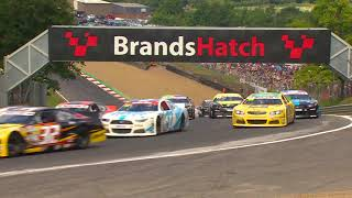 ELITE 1 Round 6 Big One on Lap 1 | NASCAR GP UK