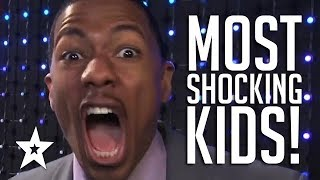 MOST SHOCKING KID AUDITIONS On Got Talent Worldwide | Got Talent Global