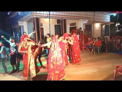 New Rajasthani Marriage dance 2019 Indian Wedding मारवाड़ी डांस village shadi dance 2019
