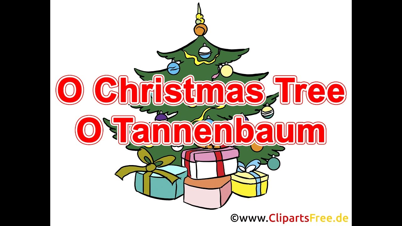 Oh Tannenbaum Lied.O Christmas Tree Lyrics Children Song To Christmas