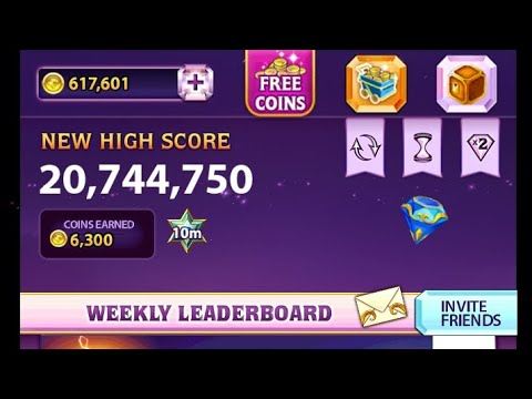 Bejeweled Blitz - 20,744,750 with Blue Thunder (Gameplay)
