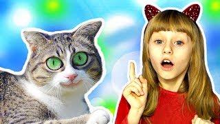 Маша и Детские Рисунки в Реальности Сборник Животные Обнимашки с Машей