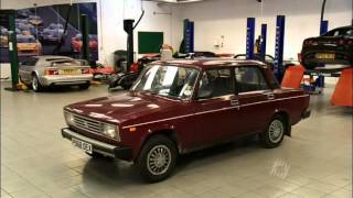 Top Gear Lotus переделывает Lada Riva ВАЗ 2107