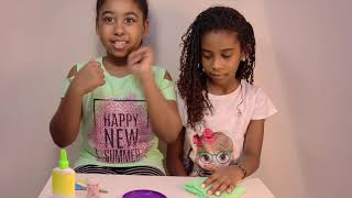 For kids-Easy and simple Craft..Nails with play dough ..Tutorial