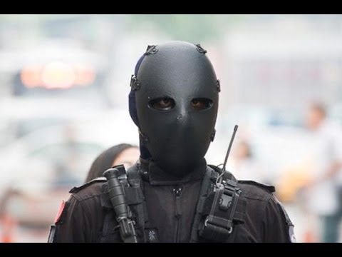 Every Day is Halloween with Taiwan's Security Forces! (w/t Chinese Subtitles) | China Uncensored