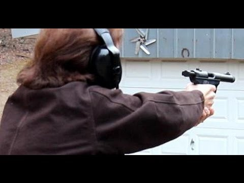 Shooting Ruger 22 45 Mark III by the TheLighthouseLady