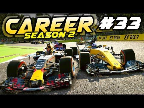F1 2017 Career Mode Part 33: UPSET AT FERRARI\'S HOME RACE