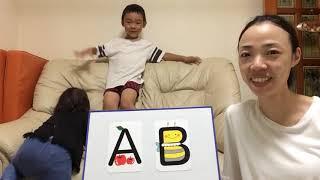 子供英会話 可愛いアルファベットマグネット