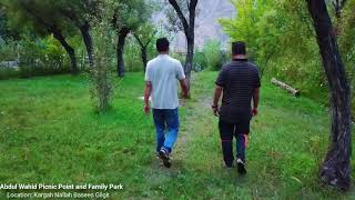 Beautiful Nature Park on Kargah Nallah Gilgit City