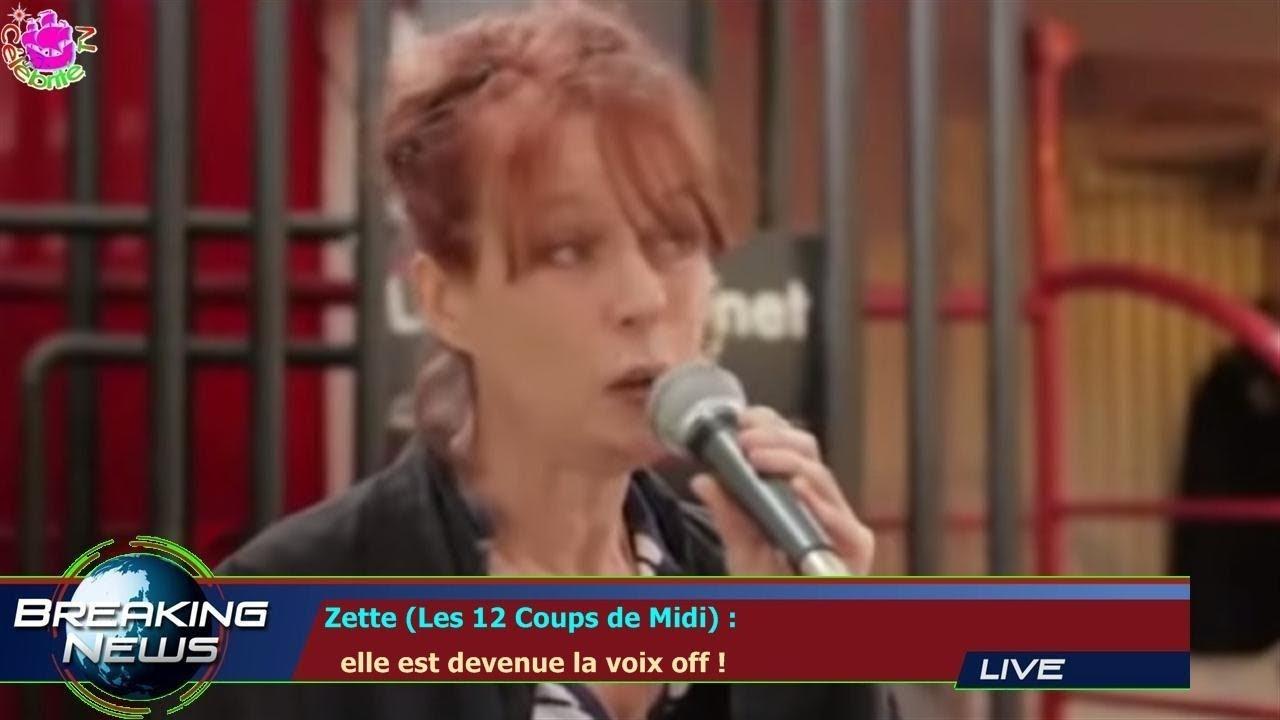 Zette les 12 coups de midi elle est devenue la voix - Zette des 12 coups de midi ...