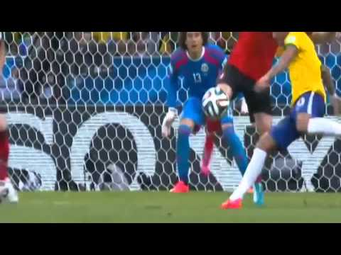 Mexico vs Brazil HIGHLIGHTS World Cup 2014 (OCHOA SAVES)