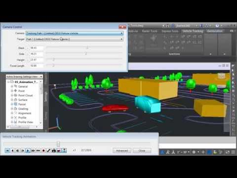 Learn Autodesk Vehicle Tracking Pt.6 - Creating Animations