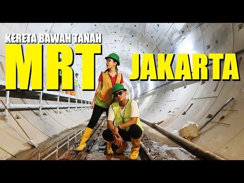 BERPETUALANG KE BAWAH TANAH | MRT JAKARTA