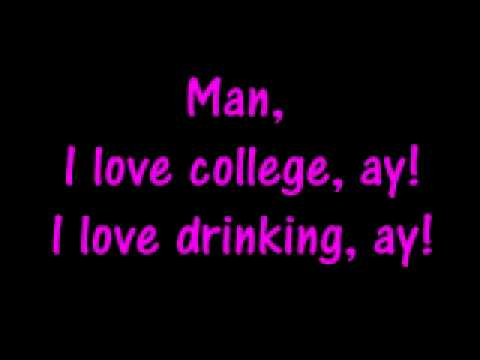 I Love College Asher Roth {{Lyrics}}