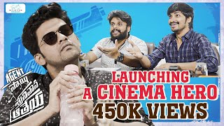 Launching A Cinema Hero Ft. Naveen Polishetty | Agent Sai Srinivasa Athreya
